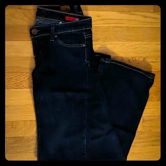 Express Denim - Dark wash Express x2 flare jeans
